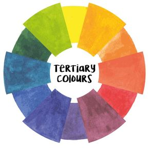 These Colours Are Created When Mixing One Secondary And Primary Colour Together